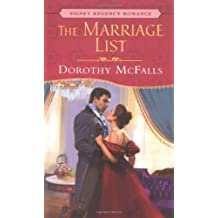 The Marriage List (Signet Regency Romance) by Dorothy McFalls (2005-05-03)