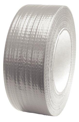 KS Tools 141.5000 Gewebeklebeband, silber, 50 mm x 50 m