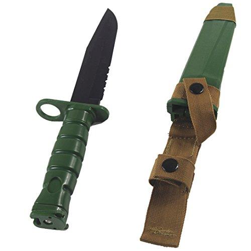 wwman M10weicher Kunststoff Produktion 36cm Tactical Dagger Film Requisiten Messer Animation Bajonett Tactical Modell Weiche Messer, (Requisiten Film)
