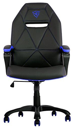 ThunderX3 TGC10 – Sillas Gaming profesional (inclinación, altura y apoyabrazos regulables, ergonómica, acolchada y cómoda,ruedas)