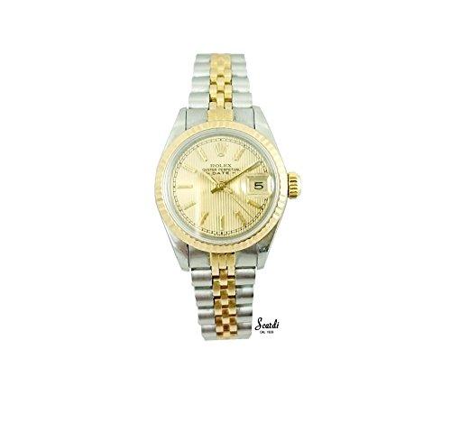orologio-vintage-rolex-datejust-oro-18kt-automatico-originale-scatola-perfetto