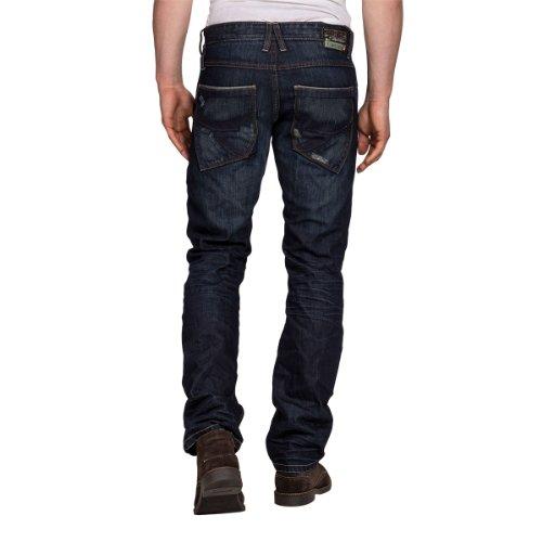 Timezone Herren Straight Leg Jeans New LewinTZ Blau (authentik dark blue 3562) (CM)