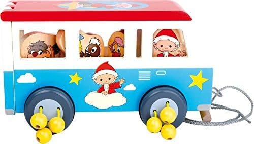 small foot Marchand design Jouetprive-Bus en Bois à Tirer Le Marchand foot de Sable 276c5c