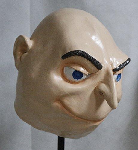 Einfache Kostüme (Felonius Gru Voller Kopf Latex Maske Kostüm Halloween Ich - Einfach)