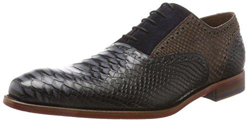 Floris Van Bommel 19103, Chaussures Plates Homme Noir (noir)