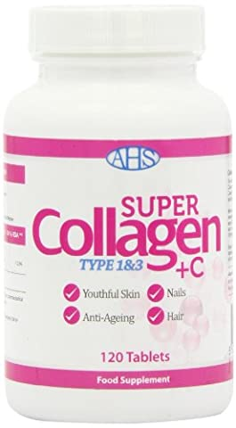 AHS Super Collagen Plus C Tablets - Pack of 120 Tablets