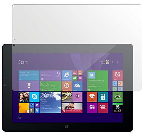 dipos I 2X Schutzfolie matt passend für Odys WinPad V10 Folie Bildschirmschutzfolie