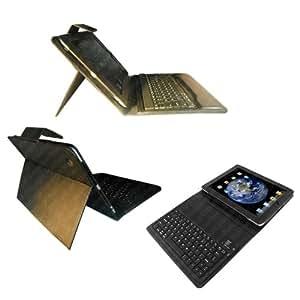 Apple iPad 2/3/4 Noir Housse en Cuir avec Clavier Bluetooth