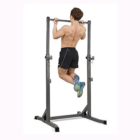 LMZZGAOYANQING Chin-up seul appareil multifonction de barres parallèles squat crémaillère banc équipement de conditionnement physique en salle de presse à crémaillère