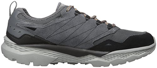 Skechers Performance Mens Go Outdoor-Voyage Walking Shoe Charcoal/Orange
