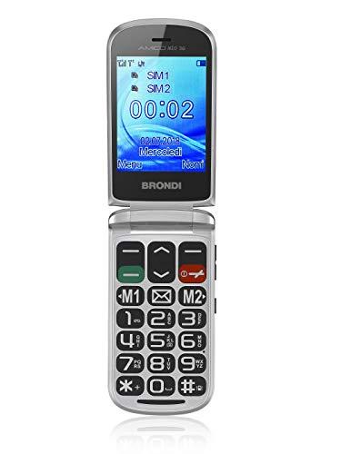 Brondi amico mio 3g cellulare dual sim grigio