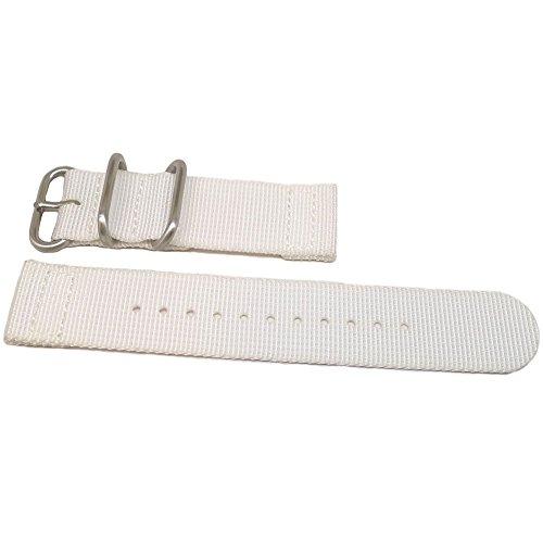 daluca-2-pezzi-in-nylon-balistico-colore-bianco-nato-da-polso-20-mm