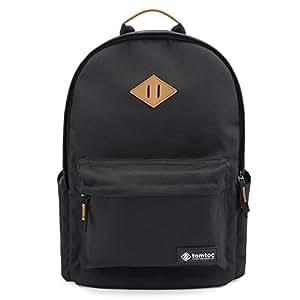 Tomtoc Zaino sport all in one leggero per laptop da 15.6 pollici da uomo e da donna - utile anche per viaggio, montagna, scuola e fotografia - 44 (H) per 31,5 (l) x 16,51 (L) centimetri - nero