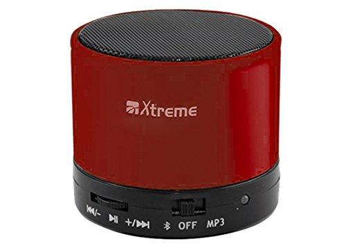 Xtreme-verstärker (Xtreme 03169Mono 3W rot Tragbarer Lautsprecher–Tragbare Lautsprecher (eingebaut, 1-Weg, kabellos, Bluetooth, Bluetooth, Mono))