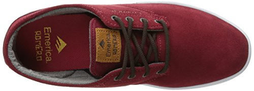 Emerica Laced By Leo Romero-M, Baskets mode homme Burgundy
