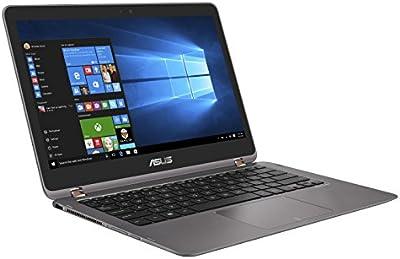 'ASUS ux360uak-c4280t Zenbook Flip portatil, 13.3Full HD (Intel Core i5–7200u, RAM 8GB, SSD 512GB, Intel HD Graphics 620, Gris