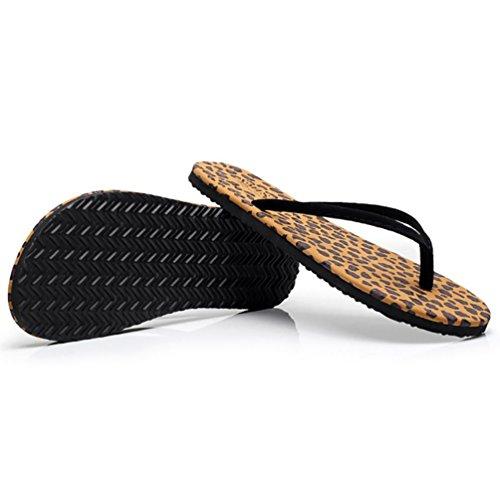 SHANGXIAN plage pantoufles plates des femmes Thong Sandal d