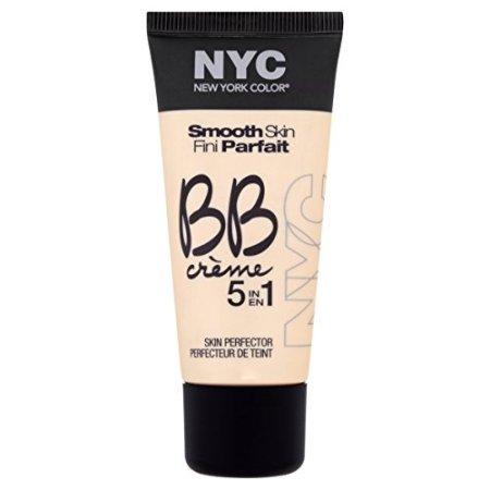 N.Y.C. New York BB Creme Foundation, Medium, 1 Fluid Ounce by N.Y.C.