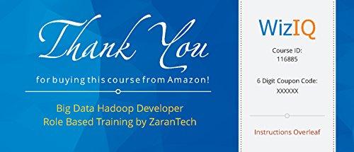 Big Data Hadoop Developer Role Based Training by ZaranTech (Voucher)