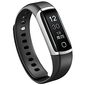 KPulsmesser Smart Sport Armband Blutdruck Pulsuhr Schlaf Schrittzähler Wasserdicht Uhr Optional Farbdisplay