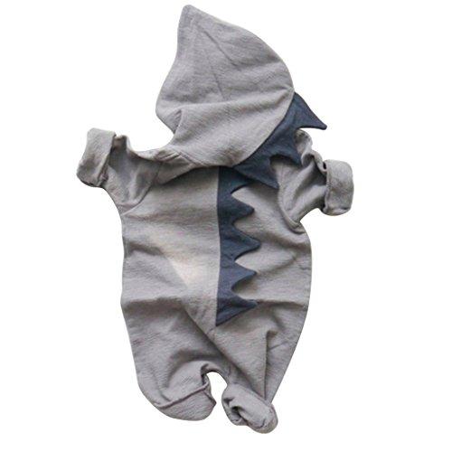 Kleinkind Dinosaurier Kostüme (Originaltree Baby Jungen Mädchen Overall Kapuzenpullover Dinosaurier Kostüm für Neugeborenes Kleinkind Klettern Kleidung size 2-3 Years)