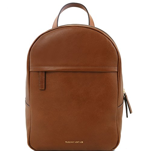81416044 - TUSCANY LEATHER: TL BAG - Sac à dos pour femme en cuir, Marron
