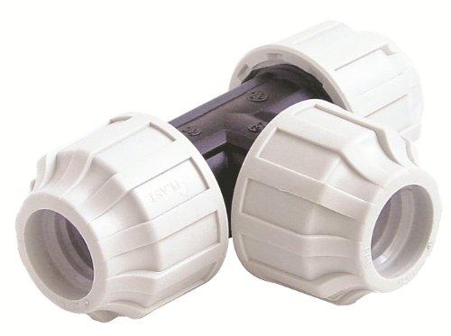 STP Fittings 08335298 Connecteur en T pour tuyau Polypropylène 40 x 40 x 40 mm