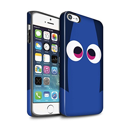 n Stoßfest Hülle/Case für Apple iPhone SE/Dory Kunst Inspiriert Muster/Animierte Filmfiguren Kollektion ()