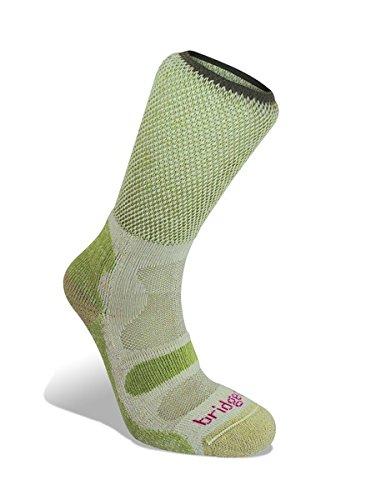 Bridgedale Women's Cool Fusion Light Hiker Socken grün Grün - Spring Green Size 7-8.5 -