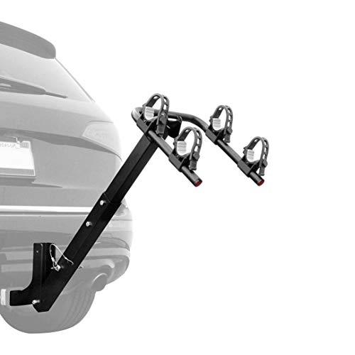 Retrospec Lenox Car Hitch Mount 2 Bicycle Carrier Bike Rack, Black, One Size