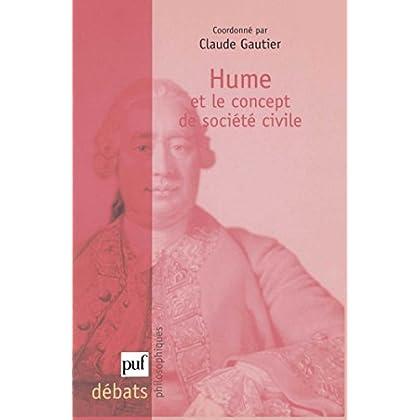 Hume et le concept de société civile (Débats philosophiques)
