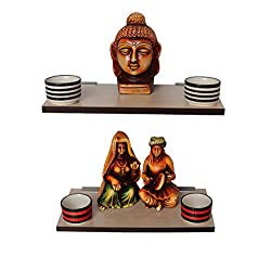 Madhuran Display Wall Dcor Shelf Pine set of 2 15X30 CM / Wooden Decorative Decoration Dining Dark Storage Shelves Stand Slabs Showcase Statues Shower Stellar Mounted Mdf Multipurpose Counter Cupboard Chest Cabinet Home Holder Kitchen Keeping Rectangular Racks Room Ladder Living Floating Brown Black Book Bed Organizer Office Perfect Place Photo Frames Utility Trophy wenge Captiver Series
