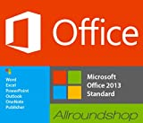 MICROSOFT OFFICE 2013 STANDARD VOLLVERSION DEUTSCH - online mlk