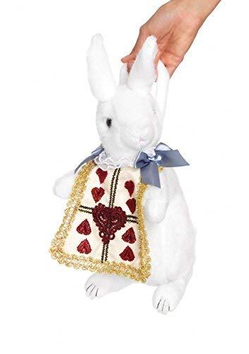 White Rabbit Henkeltasche von Leg Avenue Alice im Wunderland Hase Kaninchen (Rabbit White Kostüm Wunderland)