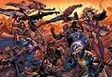Bande dessinée Venom Spiderman Wolverine Avengers Comics Marvel Comics MS Marvel foncé Avengers Ares Mouse Pad, Mousepad (25,9x 21,1x 0,3cm)