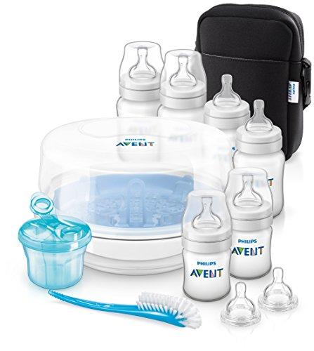 Philips Avent SCD383/01 Classic+ Essential Set Umfassendes Set - Flasche Sterilisator Kit
