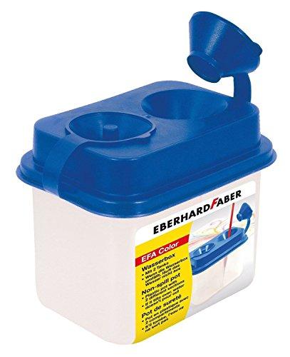 Eberhard Faber 579900 - Wasserbox mit 2 Tanks, blau (E-tank-becher)