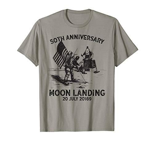 Jahrgang 50. Jahrestag Mondlandung 1969 50 Jahre T-Shirt - 50 Jahre T-shirt