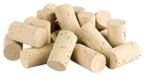 50 Weinkorken (Wein Korken Flaschenkorken) - Naturkorken Kork, ideal zum Basteln und Dekorieren