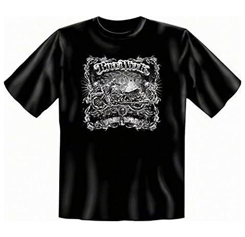 Motorcycle Chopper T-Shirt Bike Week Remote Control Black Black black Size:XXL