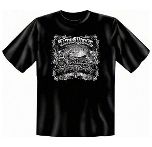 Motorrad und Biker T-Shirts schwarz Bike Week Herren T-Shirt geil bedruckt -