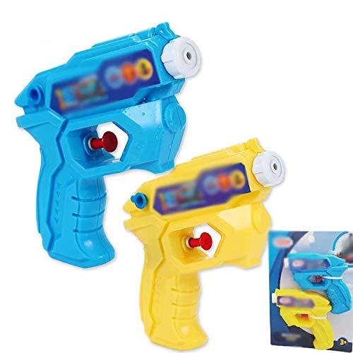 Rouge Super pistolet argent jouet pistolets canon 100 pièces factures jeu en plein air.