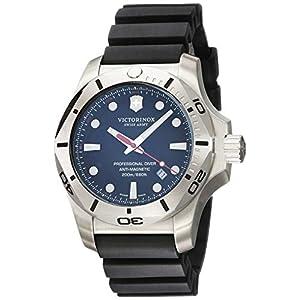Victorinox Hombre I.N.O.X. Professional Diver – Reloj de Caucho/Acero