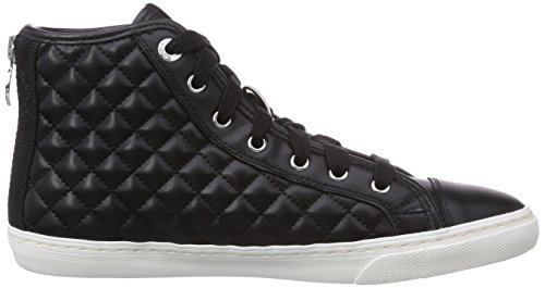 Geox D Giyo, Sneaker Alta Donna Nero (Black C9999)