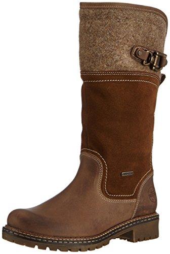 Tamaris 26432, Stivali altezza metà polpaccio Donna Marrone (Braun (Cafe Comb 385))