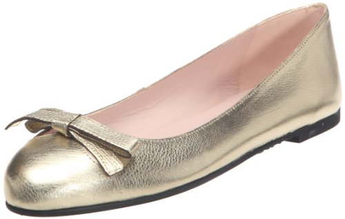 Pretty Ballerinas 40611, Ballerines femme Or (Bella oro)