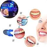 alandco Zahnaufhellung Weiße Zähne Bleaching Gel Bleaching White Stripes Zähne Aufhellen Kit Zahnweiss Kit Zahnweiß-Streifen Teeth Whitening