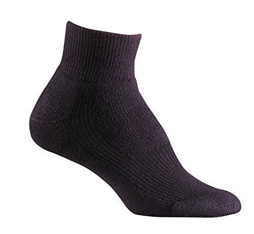 Fox River Frauen 'S Wick Dry Walker leicht Quarter Crew Socken, damen, schwarz (Crew Mikrofaser-crew-socken)