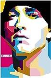 #7: Posterhouzz Eminem Fine Quality Wall Poster