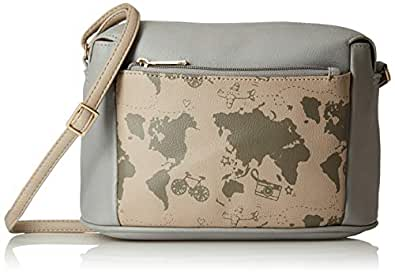 Baggit Women's Sling Bag (Grey)